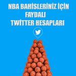NBA ve basketbol bahisleriniz için faydalanabileceğiniz twitter hesaplarını yazımızda bulabilirsiniz.